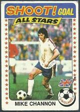 TOPPS 1976 FOOTBALLERS #137-MICK CHANNON-SOUTHAMPTON & ENGLAND-ALL STAR