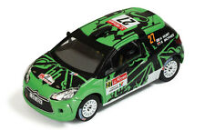 Citroen DS3 R3 #27 35th Portugal IRC 2011 Hunt / Marshall 1:43 Model IXO MODEL