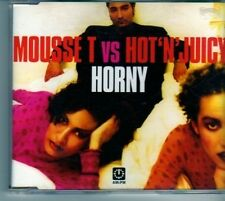 (DM741) Mousse T VS Hot'N' Juicy, Horny '98 - 1998 CD