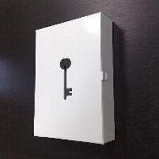 IKEA prunka bianco in acciaio chiave armadio metallo parete in metallo 11 Ganci