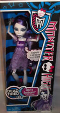 MONSTER HIGH DOLL DEAD TIRED SPECTRA VONDERGEIST
