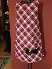 Copper Key Girls Sz. 4T Christmas Scottie Applique Jumper Dress EUC!