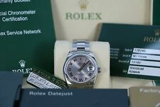 New Rolex Unisex Watch Datejust 31mm Midsize 178240 Stainless Steel Automatic