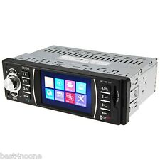 "3.6"" TFT Screen Bluetooth 12V Car Radio Audio Stereo Rear View Camera MP5 USB SD"