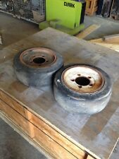 Forklift Tires And Wheels Good Used. 18x7x12.175    258463781