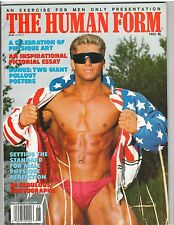 Rare THE HUMAN FORM from Exercise for Men Only bodybuilding magazine/2 posters