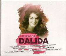 "CD ""DALIDA - 2 CD ESSENTIALS ""  40 titres  NEUF SOUS BLISTER"