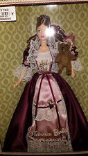 1999 VICTORIAN BARBIE WITH CEDRIC BEAR - COLLECTION EDITION - MNRFB