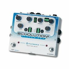 Pigtronix Echolution 2 Filter Pro Multi-Tap Delay Guitar Effect Stompbox Pedal