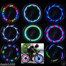 14 LED Pneu Roue Valve Clignotant Rayon Léger Voiture Moto Bicyclette Vélo