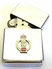 ROYAL ARMOURED CORPS WINDPROOF CHROME PLATED LIGHTER