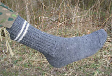 REPRODUCTION GERMAN WWII GRAY WOOL SOCKS SIZE 3 RING (11-12)
