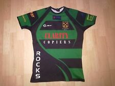 MATCH WORN ST.PETERS.CARDIFF.WALES.RUGBY SHIRT/JERSEY/,MAILLOT- SUPERB!