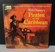 1968 WALT DISNEY'S PIRATES OF THE CARIBBEAN SOUNDTRACK BOOK 3937 LP VINYL RECORD