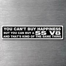 Buy a SS V8 sticker premium 10 year vinyl water & fade proof Holden commadore