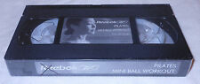 NIP Reebok Pilates Mini Ball Workout (VHS 2003) Exercise Instructional Video NEW