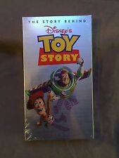 The Story Behind Disney's Toy Story [VHS] Video Pixar SEALED