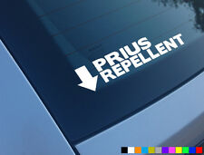 PRIUS REPELLENT FUNNY CAR STICKER DECAL BUMPER WINDOW JAP JDM CAR MEMES