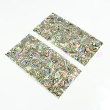 2pcs Guitar Builder Inlay Colorful Guitar Celluloid Head Veneer Shell Sheet new