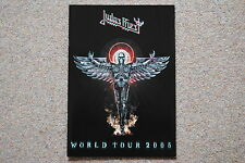 JUDAS PRIEST WORLD TOUR 2005 PROGRAMME BOOKLET BROCHURE NEW OFFICIAL RARE METAL