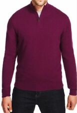 M&S XXL Luxuary Wool Rich Men Jumper with Cashmere, Plum Colour, was £55,BNWT