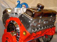 327 Chevy High Perf balanced Crate engine with Aluminum or Camelhump heads