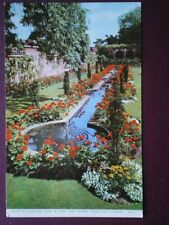 POSTCARD LONDON KENSINGTON - COURT OF FOUNTAINS DERRY & TOMS ROOF GARDEN