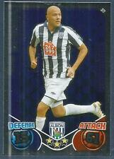 TOPPS MATCH ATTAX 2010-11- #377-WBA-ROMAN BEDNAR-SHOWBOATING-FOIL