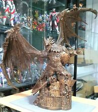 WOW World of Warcraft Deathwing Neltharion Copper Statue Recast Resin material