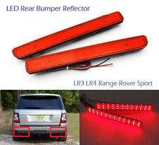 Red Lens LED Rear Bumper Reflector Brake Stop Light for LR3/4 Range Rover Sport