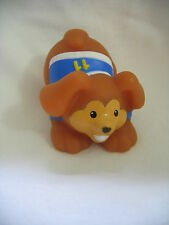 New! Fisher Price Little People SOCCER BASEBALL PUPPY DOG Sports Pet in Jersey
