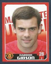 PANINI MANCHESTER UNITED 2008/09 #169-EIRE-DARRON GIBSON-*ROOKIE*
