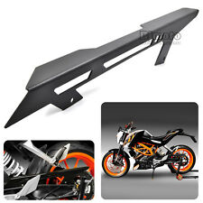Motorcycle CNC Aluminum Chain Guard Cover For KTM DUKE 125 200 390 13-15 Black