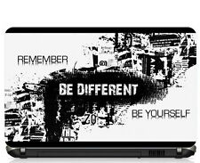 "Remember Be Different Laptop Skin 15.6"" - High Quality 3M Vinyl"