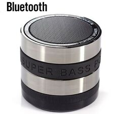 Mini Bluetooth Wireless Hands Free Portable Super Bass Speaker with Microphone