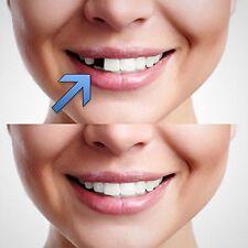 Temporaire dent de remplacement cosmétiques dents diy faux dent manquante réutilisable