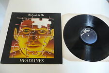 HEADLINES LP FLASH AND THE PAN . EPIC FRENCH PRESS EPC 25180.