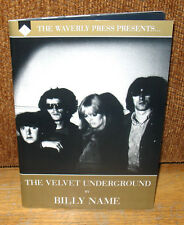 New SIGNED Numbered Billy Name The Velvet Underground Limited PB Lou Reed Nico