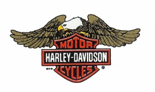 autocollant decal sticker  Harley Davidson eagle up