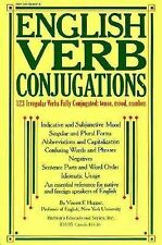 English Verb Conjugations: 123 Irregular Verbs Fully Conjugated-ExLibrary