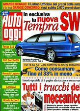 AUTO OGGI # Anno X - N.11 - 23 Marzo 1995 # A.Mondadori # Rivista settimanale