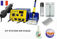 KIT Station soudage à air chaud + fer BAKU BK-601D