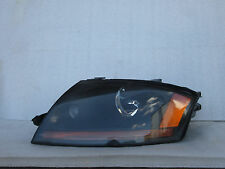 01 02 03 04 Audi TT  Headlight Xenon Head Lamp 2001 2002 2003 2004 OEM Black