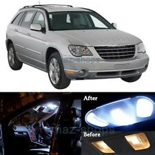 14Pcs Pure White Interior LED Lights Package for 2004-2008 Chrysler Pacifica MP
