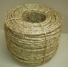 "3/8"" Nautical MANILA ROPE CUT TO LENGTH  $.10 per foot Crafts Work Farm Dock NEW"