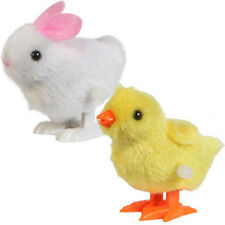New Infant Child Toys Hopping Wind Up Easter Chick and Bunny Nice