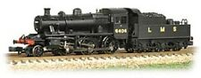 Graham Farish Ivatt Class 2MT 2-6-0 6404 LMS Black N gauge Steam Loco UK