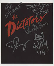 The Dictators (Punk Band) Ross The Boss Fully Signed Photo Genuine In Person