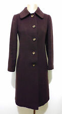 CULT VINTAGE '70 Cappotto Donna Lana Woman Wool Coat Sz.S - 40