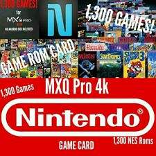 MXQ Pro S905X Smart TV BOX - NES Game Card w/1,300 Games (GAME CARD ONLY!)